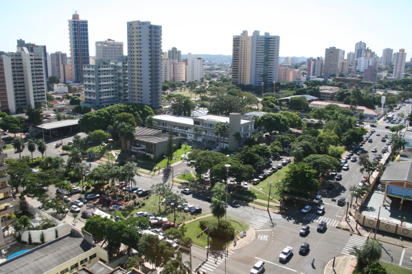 City of Campo Grande -  Aerial View
